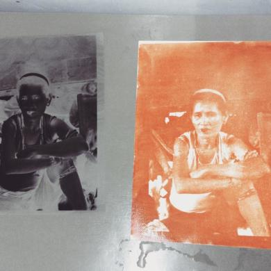 Carretero Reintroduces Gum Bichromate Printing to Mixed Media Artists