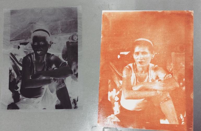 Carretero Reintroduces Gum Bichromate Printing to Mixed Media Artists